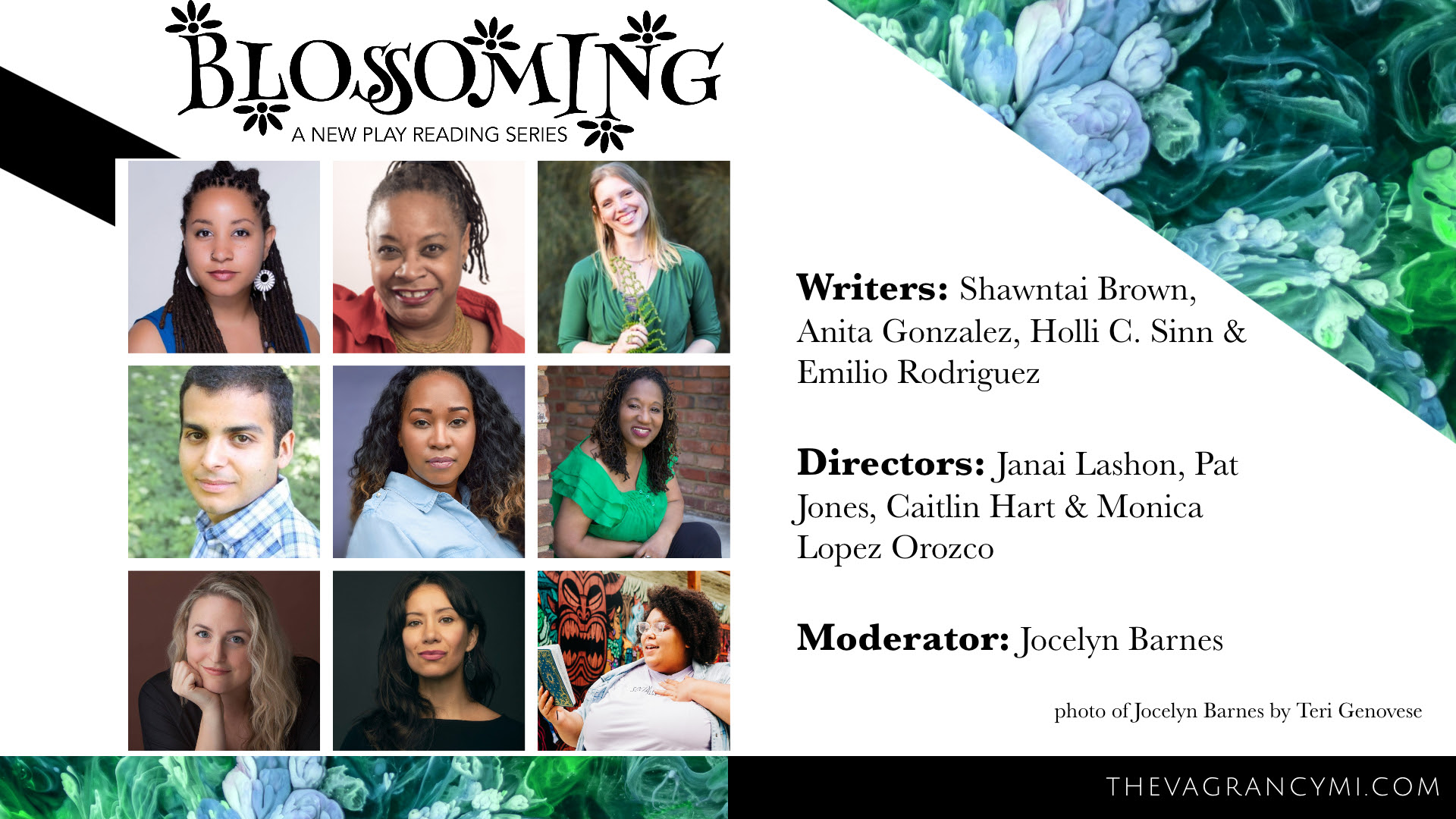 Blossoming Writer promo